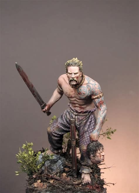scottish warrior the pewter brigade review celtic warrior