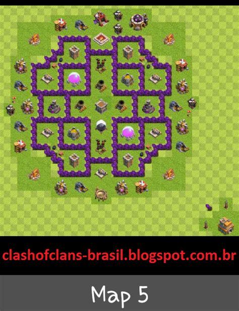 layout centro da vila nivel 7 centro da vila 7 farm layout clash of clans dicas