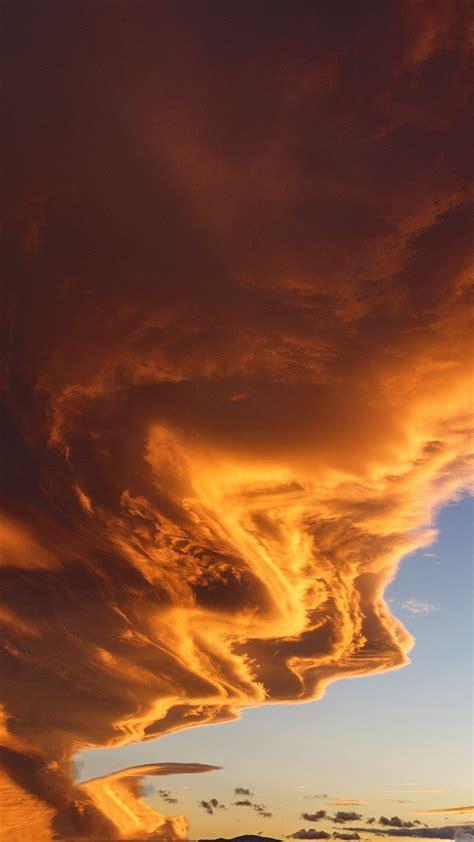 wallpaper cloud  hd wallpaper sky sunset nature