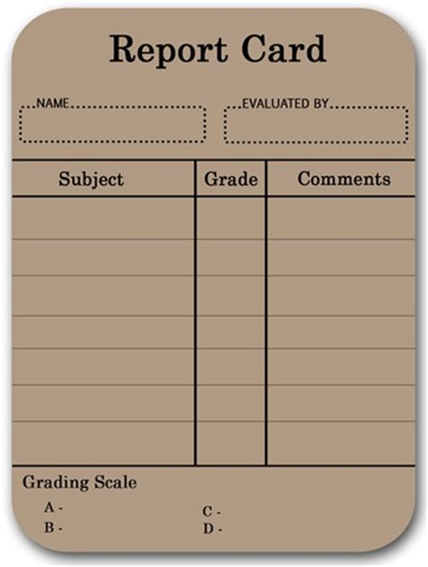 blank report card template free blank time card template search results calendar 2015