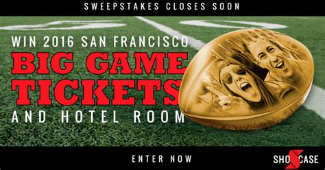 Sweeties Sweepstakes - shocase special teams super bowl trip sweepstakes