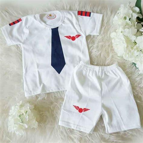 Setelan Bayi Laki Laki 6 8 Bulan 3920bb jual setelan baju bayi kostum sablon pilot mall baby