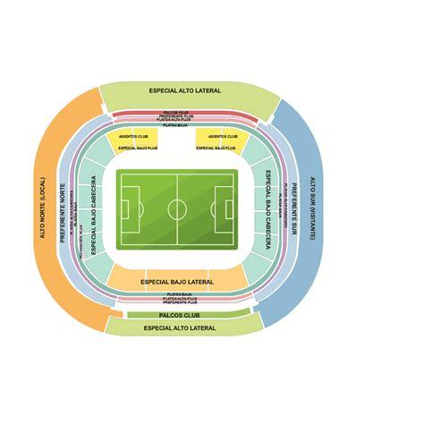 estadio azteca detailed stadium seating chart nfl mexico oakland raiders vs houston texans estadio azteca mexico