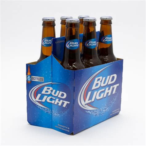 bud light 12oz 6 pack bottle wine and liquor
