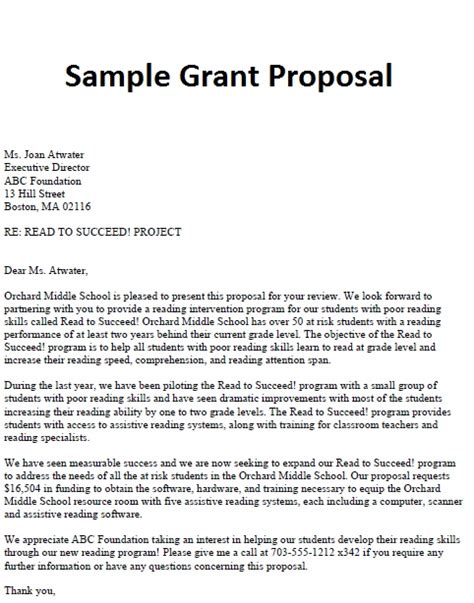Research Grant Letter How To Write A Letter Of Application For Grant
