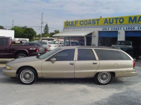 how to work on cars 1993 chevrolet caprice classic head up display find used 1993 chevrolet caprice classic wagon low mileage in largo florida united states
