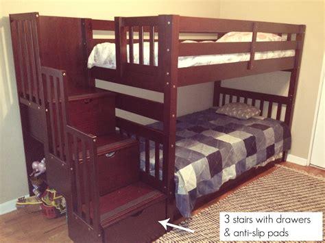 3 bunk beds with stairs 3 bunk beds with stairs bedding sets