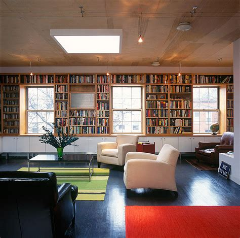 built in bookcase modern bookcases new york by
