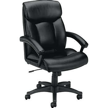 basyx by hon vl151 series executive high back leather