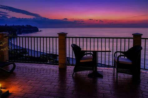 terrazza sul mare tropea hotel rocca della una terrazza con vista sul mare