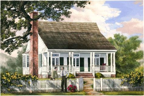 William E Poole Designs Cajun Cottage Cajun House Plans