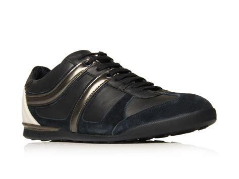 hugo sneaker shoes hugo knob sneakers in black for navy lyst