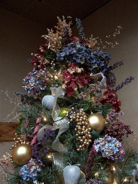 hydrangea tree christmas pinterest