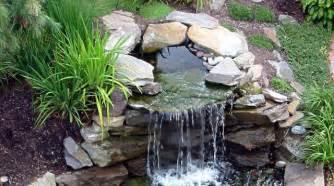 fontaine et cascade de jardin bassin fontaine cascade de jardin que choisir c 244 t 233 maison