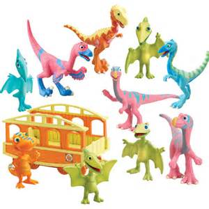 dinosaur train toy collectible figure gift pack walmart