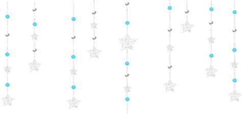 transparent decorative hanging stars gallery