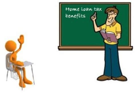 tax deduction on housing loan home loan tax benefit deductions