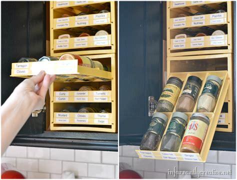 Cabinet Door Organizers Kitchen kitchen gadget alert spice storage