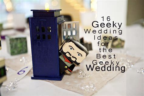 16 inspirational geeky wedding ideas for a geeky wedding