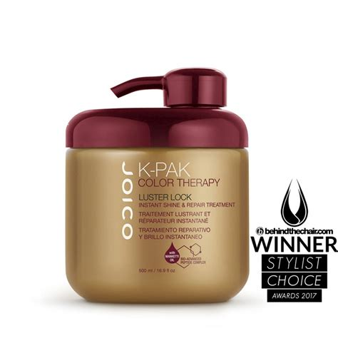 joico k pak color therapy shoo joico k pak color therapy luster lock 500ml