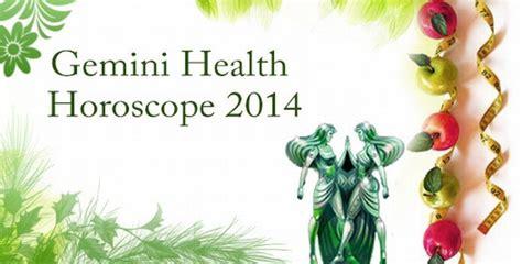 gemini health horoscope 2014