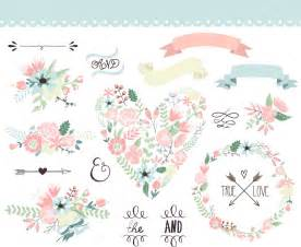 wedding flowers vector images
