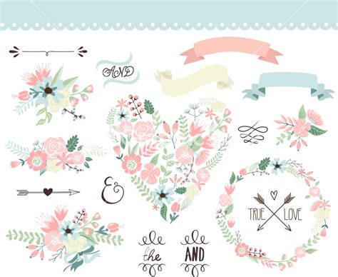 Wedding Border Vector by Wedding Flowers Vector Images