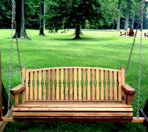 hanging bench garden bench swings seat only built to last decades