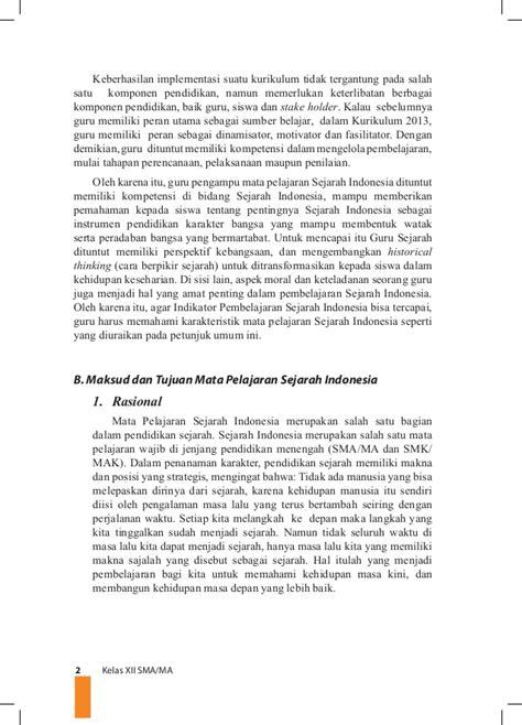Buku Guru Sejarah Smama X Peminatan K 13 Edisi Revisi sejarah indonesia kelas xii k13 buku guru