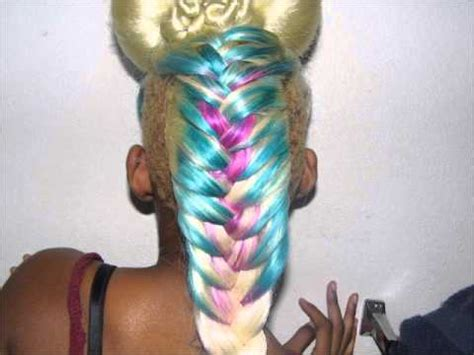 3d illusion braids braided mohawk illusion doovi
