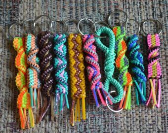 keychains lanyards  lace  pinterest
