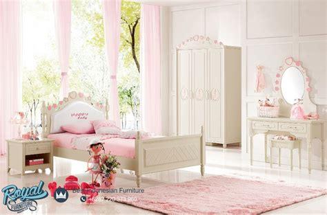 Murah Korean Princess set kamar tidur anak perempuan terbaru princess korean style royal furniture indonesia