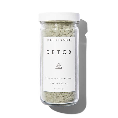 Detox Bath Products by Herbivore Botanicals Dead Sea Bath Salts Detox