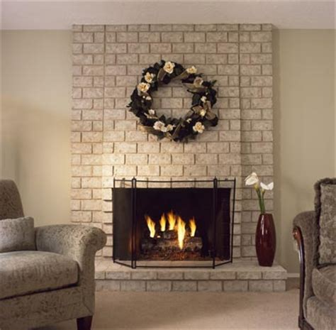 brick anew fireplace paint