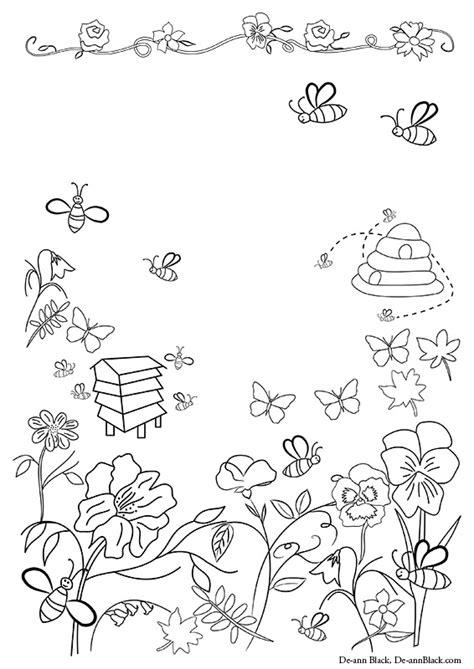 stargazer space colouring book 1908072776 bee garden 171 de ann black art