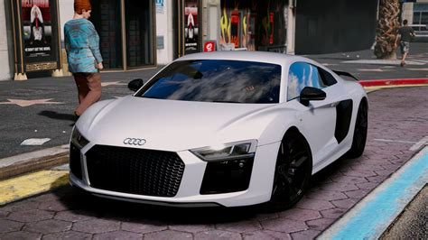Audi R8 Plus by Audi R8 V10 Plus 2017 Add On Replace Tuning Gta5 Mods