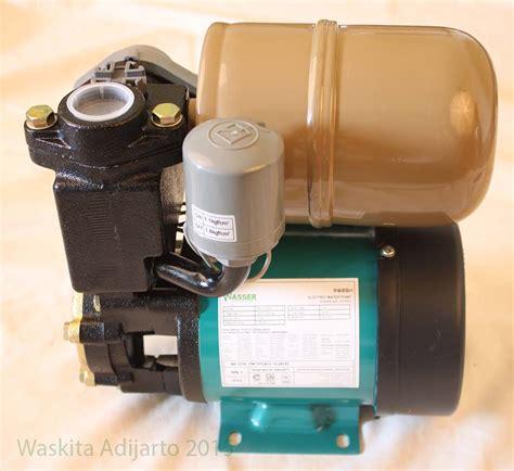 Pompa Air Wasser Pw 131e Perbandingan Pompa Air Dangkal Elektrologi