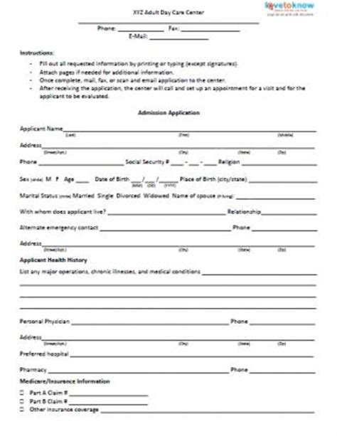 child care employment application template home care employment application template employment