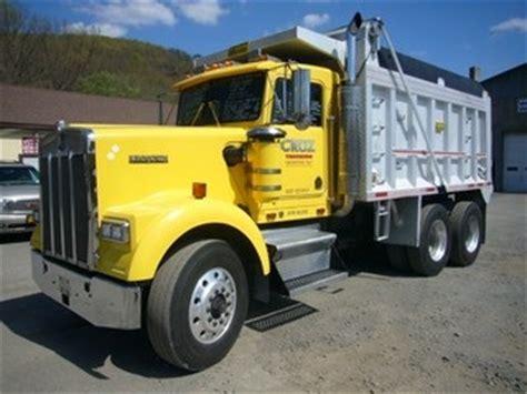 kenworth tandem dump truck for sale 1989 kenworth w900 tandem axle dump truck for sale by