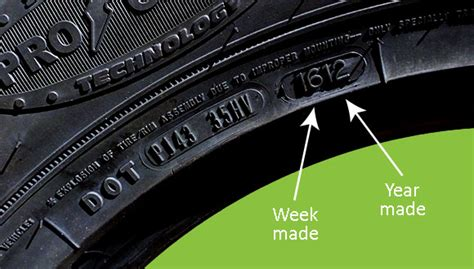 Car Tire Age Safety What Is A Tire Date Code And Where Do I Find It