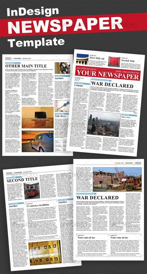 newspaper newsletter template 44 best newsletter print images on