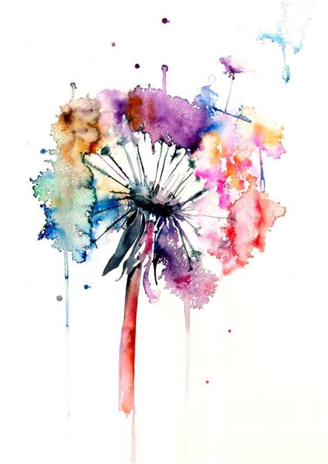 expand  knowledge  watercolor painting ideas
