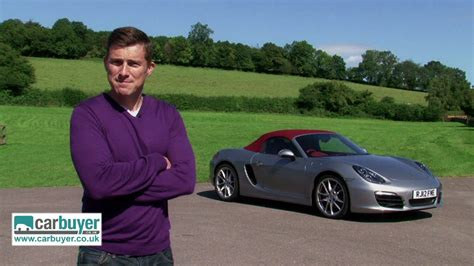 Mat Watson Carbuyer by Porsche Boxster Review Carbuyer