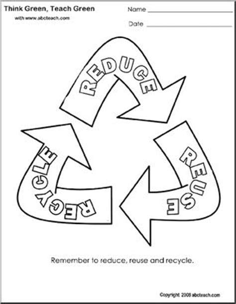 coloring pages for recycle reduce reuse coloring page think green reduce reuse recycle