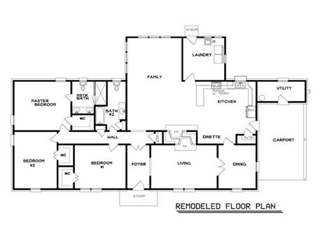 ranch floor plan miscellaneous ranch home floor plans popular floor