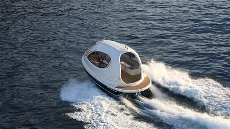 mini jet boat controls jet capsule the mini pod like yacht gt engineering