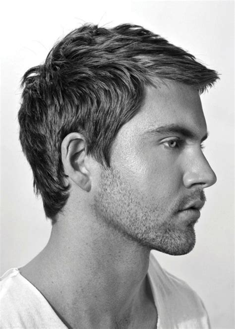 hairstyles for men with short hair and a double chin best short hairstyles for men ohtopten