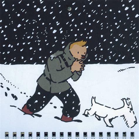 Calendrier Tintin 2018 Tintin Petit Calendrier 201 Dition 2018 Herg 233 Bdnet