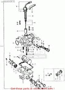 Honda Ct90 Carburetor Diagram Honda Ct90 Trail 1969 K1 Usa Carburetor K1 Schematic