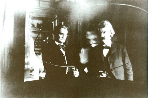Nikola Tesla Friends Above And Joseph Jefferson In Tesla S South
